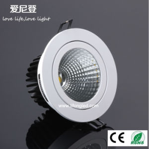 Ce RoHS Approved 18W LED COB Downlight Super Brightness Ceiling Downlight pictures & photos