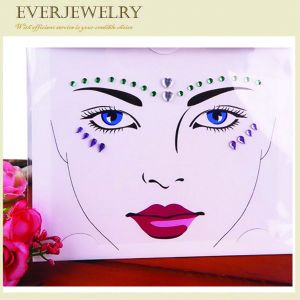 Healthy and Eco-Friendly Face Diamond Gems Decorations Stickers pictures & photos