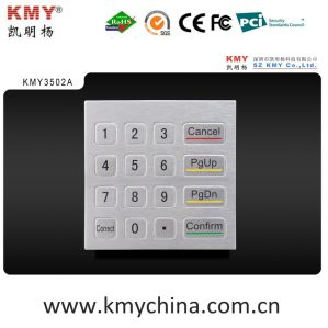 Hot Sale IP65 Metal Keypad Plug and Play (KMY3502A) pictures & photos
