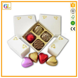Luxury Fancy Heart Shaped Wedding Packing Gift Box Chocolate Box pictures & photos