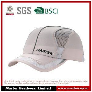 Mesh Sports Cap in Polyester with Printing Logo