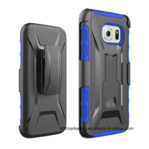 Heavy Duty Clip Stand Mobile Cell Phone Case for Samsung S7/S7edge/S6edge etc pictures & photos