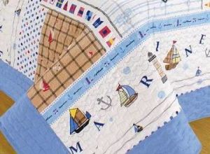 Quilt Printed Quilt Children Bedding Set Ship pictures & photos