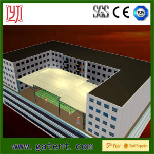 Steel Frame Membrane Structure Tent for Stadium Bleacher Roof pictures & photos
