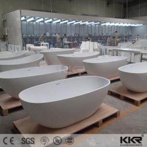 Wholesale Artificial Reisn Stone Pedestal 72 Inch Bathtub pictures & photos
