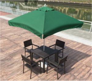 Modern Hotel Office Home Garden Aluminum Polywood Outdoor Patio Dining Table (J803) pictures & photos
