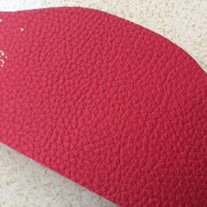 1.4mm High End Lychee Grain Microfiber for Car Seats Hx-C1705 pictures & photos