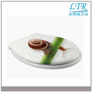 Soft Close Urea Beautiful Decorative Toilet Lid Cover pictures & photos