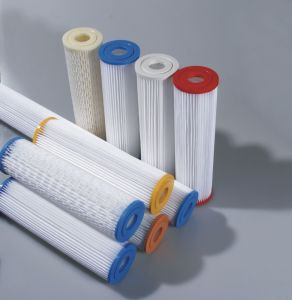 Pleated Cellulose Cartridge for Water Treatment pictures & photos