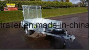 Hot Dipped Galvanised ATV Trailer with Ramp pictures & photos