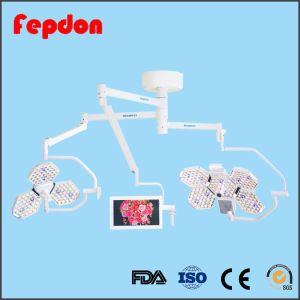Double Arm Medical Surgeon Lamp with Camera (SY02-LED3+5) pictures & photos
