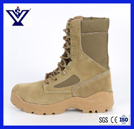 Desert Safety Tactical Combat Boots Shoes (SYSG-1955) pictures & photos