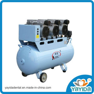 Dental Oil Free Air Compressor for 5 / 6 Dental Chairs pictures & photos