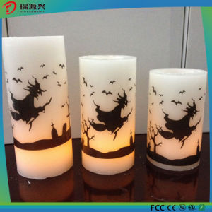 Christmas Plastic Candle LED Light pictures & photos