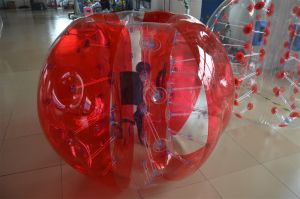 PVC Red Color Inflatable Soccer Ball for Sale pictures & photos