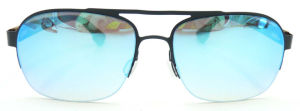 FM17329 New Design Stainless Steel Sunglasses Half Frame Sun Glasses pictures & photos