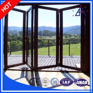 High Quality Customized Aluminum/Aluminium Folding Window and Door pictures & photos