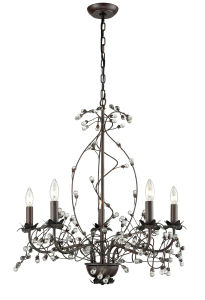 Vintage Black Mini Crystal Chandelier with Cheaper Prices pictures & photos