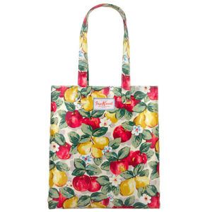 Floral Pattern Printing Waterproof PVC Canvas Shopping Bag (2293)