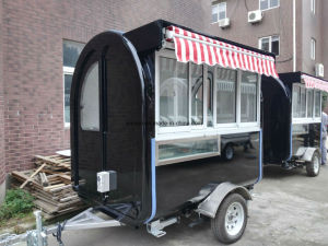 Mobile Ice Cream Trailer with Ce Certificates pictures & photos