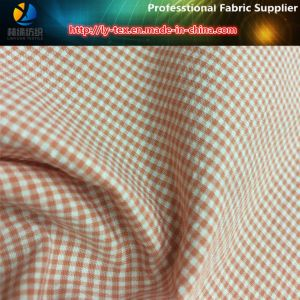Polyester/Nylon Slallow Gird Yarn Dyed Fabric for Shirt (LY-YD1162) pictures & photos