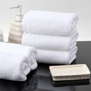 100% Cotton Plain White Hotel Hand Towel pictures & photos