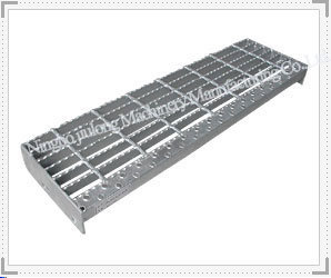 Vertical Striped Plate Nosing Grating Stair Tread pictures & photos