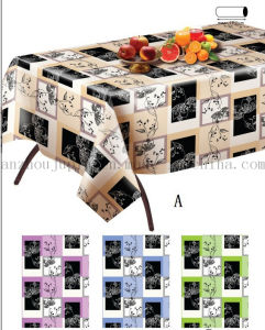 Custom Printed Water Proof PVC Table Cloth Cover Tablecloth pictures & photos