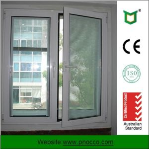 Hot Products New Design Aluminum Casement Window with Tempered Glass pictures & photos