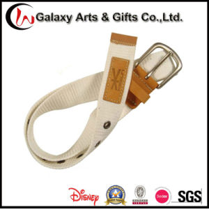 Garment Accessories Custom Polyester PU Canvas Adjustable Belt
