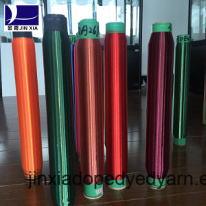 Dope Dyed Polyester Yarn Monofilament 50d/2f pictures & photos