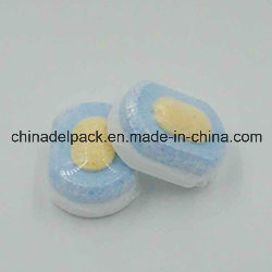 OEM&ODM Phosphate Free, Yellow Core Dishwashing Detergent Tablets, Cleaner Dishwashing Detergent Tablets pictures & photos