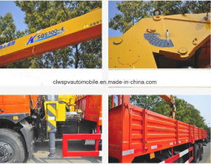 Shacman Lorry Truck Mounted 6t Straight Arm Crane Truck pictures & photos