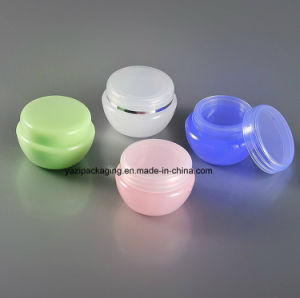 Wholesale Promotional 5ml 10ml 20ml 30ml 50ml 80ml PP Plastic Cosmetic Eye Cream Jar pictures & photos