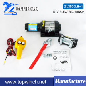 ATV DC 12V off-Road Electric Winch with Roller Fairlead (3500lb-1) pictures & photos