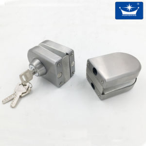 Stainless Steel Double Glass Door Lock pictures & photos