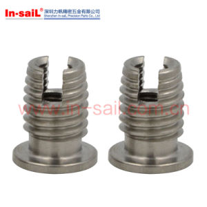 302h Standarded Tolerances Cutting Slot Self-Tapping Insert pictures & photos