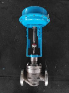 API Certified High Performance Pneumatic Single Seat Control Valve pictures & photos