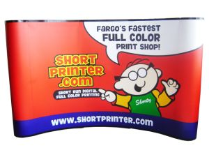 PVC Panel Pop up Banner Display Stand (PU-03-A) pictures & photos