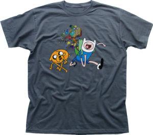 Cotton Printed Kids Plain T-Shirt (A641) pictures & photos