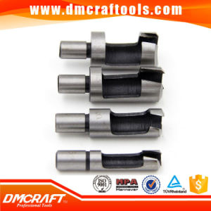 Wood Plug Cutter Straight/Tapered Claw Type Drill Core Bit pictures & photos