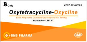 Human Medicine Oxytetracycline Injection 100mg/2ml pictures & photos