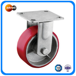 Heavy Duty 5 Inch Rigid Casters pictures & photos