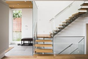 Indoor Decorative Iron Straight Stairs, Staircase Supplier pictures & photos