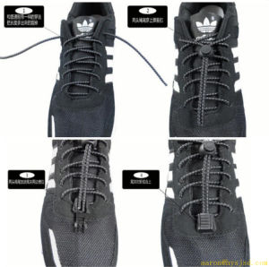 2014 Best Popular Lazy No Tie Lace Lazy Shoelace pictures & photos
