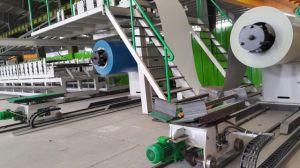 Disontinuous PU (Polyurethane) Sandwich Panel Production Machine pictures & photos