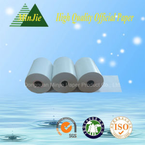 Cash Register Paper Type 55GSM Glossy Thermal Paper Rolls POS Printer Paper Roll pictures & photos