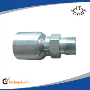 Carbon Steel Hydraulic Hose One Piece Parker Pipe Fittings pictures & photos