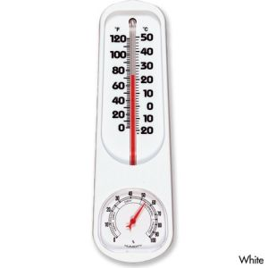 Indoor Outdoor Plastic Thermometer Hygrometer pictures & photos