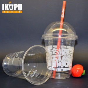 16oz 500ml Pet Disposable Plastic Cups for Cold Drinking pictures & photos